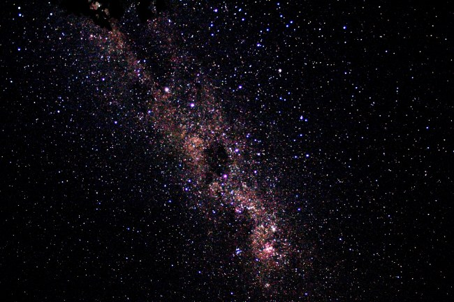 Tiny Bit of Milky Way from South Africa