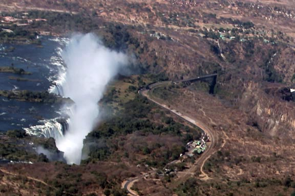 Victoria Falls Profile View 2