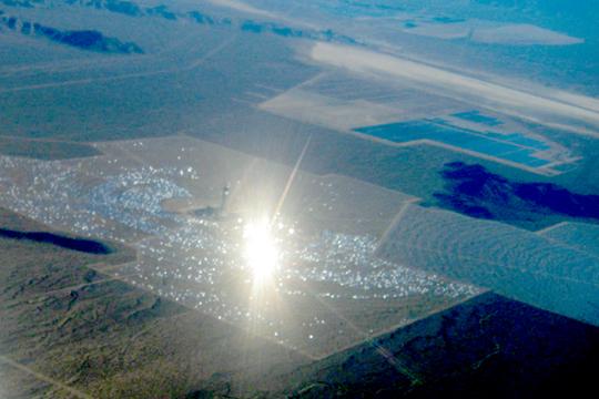 Nevada - Ivanpah Solar Plant view 2