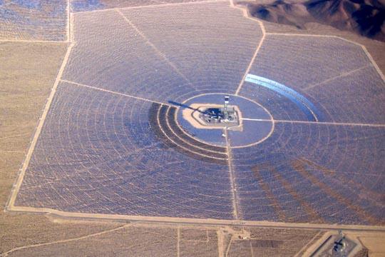 Nevada - Ivanpah Solar Plant view 3